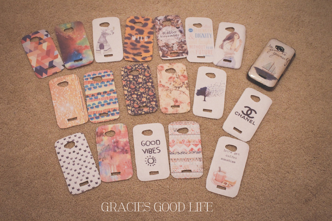 Case Design diy starbucks phone case : Easy DIY Phone Case u2013 Gracieu0026#39;s Good Life