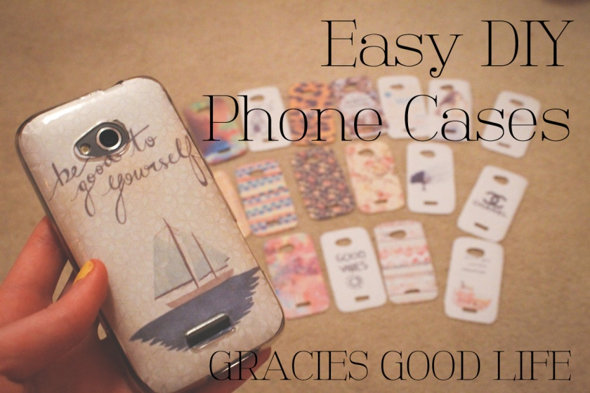 Easy DIY Phone Case